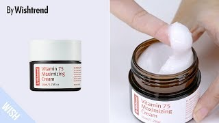 Add It to Vitamin C Product to Triple Brightening Effect | BY WISHTREND Vitamin 75 Maximizing Cream