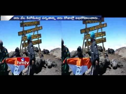 Telangana 9 Years Girl Vineela Sets Record Over Scales Mount Kilimanjaro | Mother Response | HMTV