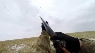 Охота на уток с чучелами видео