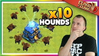 Mass Lava Hound Attacks in LEGENDS LEAGUE | Clash of Clans