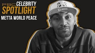 PBC Celebrity Spotlight: Metta World Peace