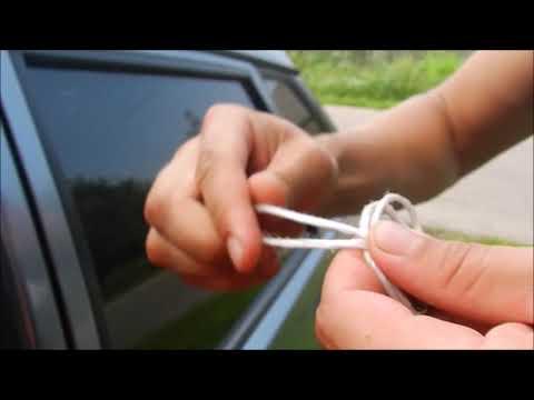 Как открыть ваз 2114 если ключи остались в машине