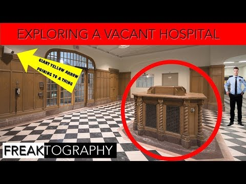 Exploring a 122 Year Old Vacant Hospital (POWER ON - Active Security and Cameras)