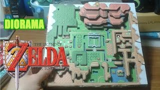 Hyrule Diorama - The Legend Of Zelda: A Link To The Past