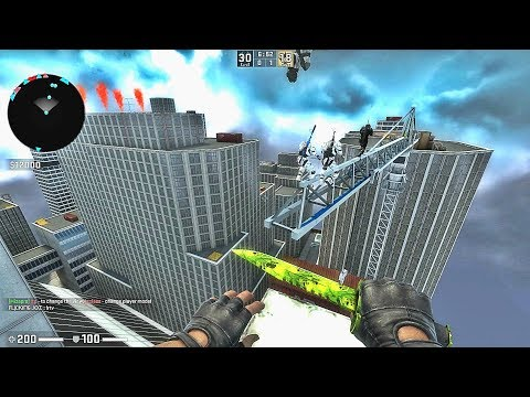 CS GO - Zombie Escape Mod - Ze_rooftop_madness_v1_8_d