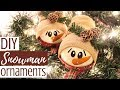 DIY SNOWMAN ORNAMENTS | Creative Christmas Challenge