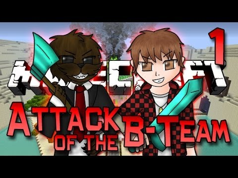 Minecraft: Attack of the B-Team Ep. 1 - WELCOME! How To Build A Modded House! (Carpenter's Mod)