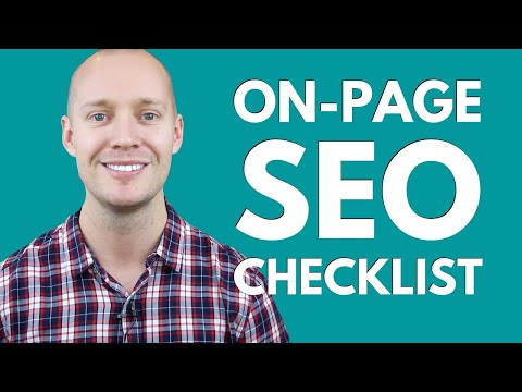 On-Page SEO Checklist for 2021 (Ultimate Guide)