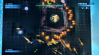 Geometry Wars 3: 50.Topaz (final boss) - 64 million