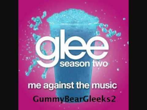 Glee - Me Against The Music (HQ FULL STUDIO)w/ lyrics.
