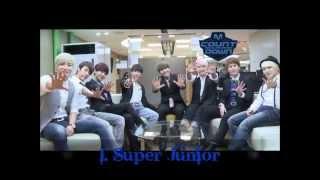 Ranking K-pop  Top 10 Global Group 2014