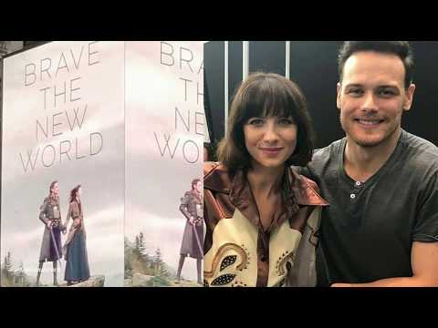 Outlander  Sam Heughan, Caitriona Balfe and more NY events 18
