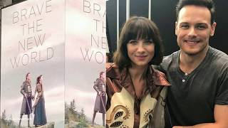 Outlander || Sam Heughan, Caitriona Balfe and more NY events 18