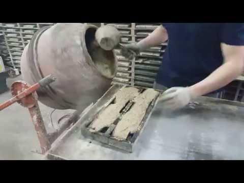 Stone veneer molds rubber