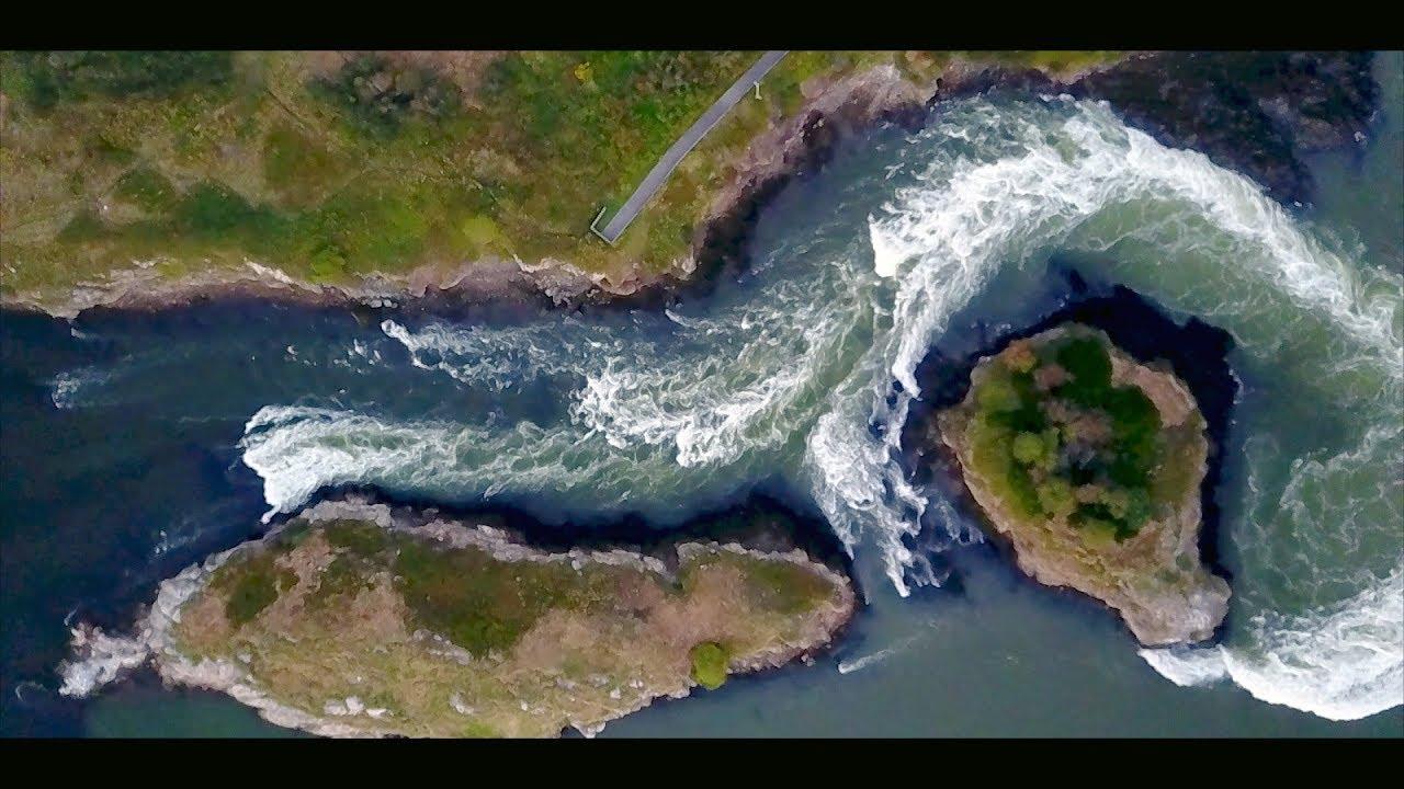 Reversing Falls - Saint John, New Brunswick, Canada - DJI