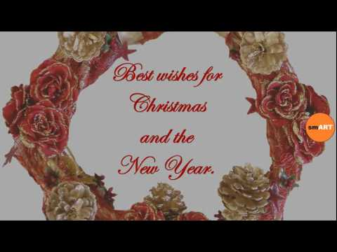 Short Christmas Sayings Christmas Card Greetings Youtube