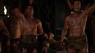 Спартак. Смерть Батиата. Рабы вырываются на свободу