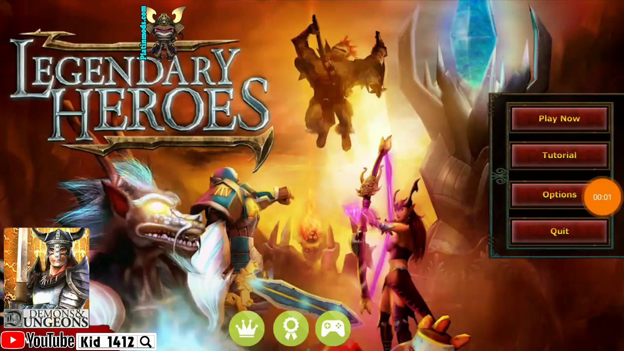 Legendary Heroes Moba 3 0 24 Mod Youtube