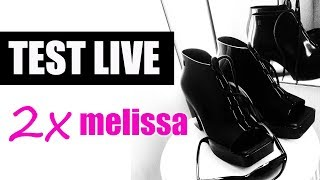 TEST LIVE BUTÓW MELISSA I FAIL (melissa aranha, melissa wonder) ShoeLove