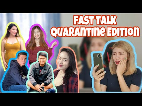 FAST TALK with Wattpad Authors (Quarantine Edition) | Tina Lata