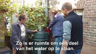 Bewoners Schiedam West testen Slimme Regenton