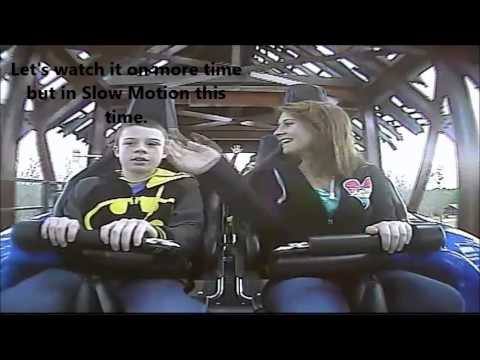 Jeremiah Amp Chloe On Verbolten Roller Coaster At Christmas