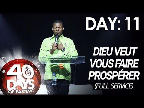 Pasteur Gregory Toussaint | 40-DAY FAST - DAY 11 I Dieu Veut vous Faire Prospérer
