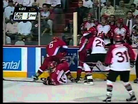 1999 World Junior Gold Medal Game Canada VS Russia AT WINNIPEG ARENA Part 4 / 10