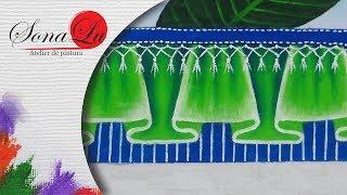 Gambar cover Barrado Falso em Verde em Tecido (Aula 206)