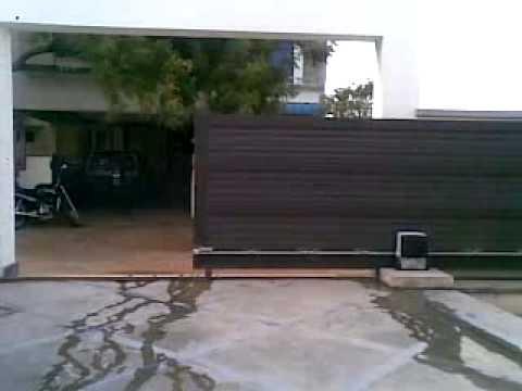 Automatic Sliding Gate Kerala Youtube