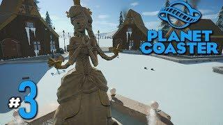 เจ้าหญิงกับเมืองหิมะ - Planet Coaster #3(มีๆๆๆๆ)