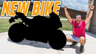 REVEALING MY NEW BIKE!! (yup, tнis iṡ it)