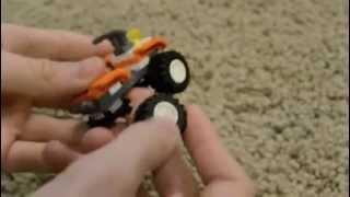 How to build a lego Four-Wheeler