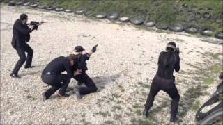Close Protection Training in High Risk Area.