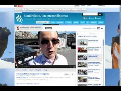 La mejor web de viajes en castellano, influencia de Social Media y publireportajes en hombrelobo.com