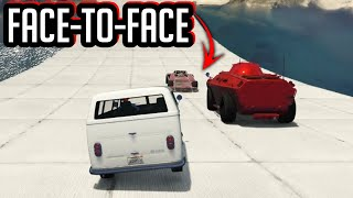 FACE-TO-FACE RACE GAAT HELEMAAL GOED! (GTA V Online Races)