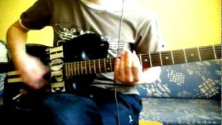 Three Days Grace - World So Cold (guitar cover)