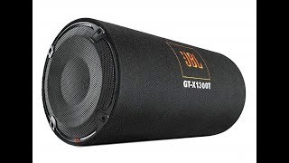JBL GT-X1300T BASS TUBE UNBOXING and SOUND TEST !! 1300W SUBWOOFER