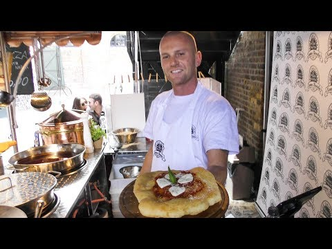 Fried Pizza from Naples. One More Kind Tasted in Camden Town. London Street Food