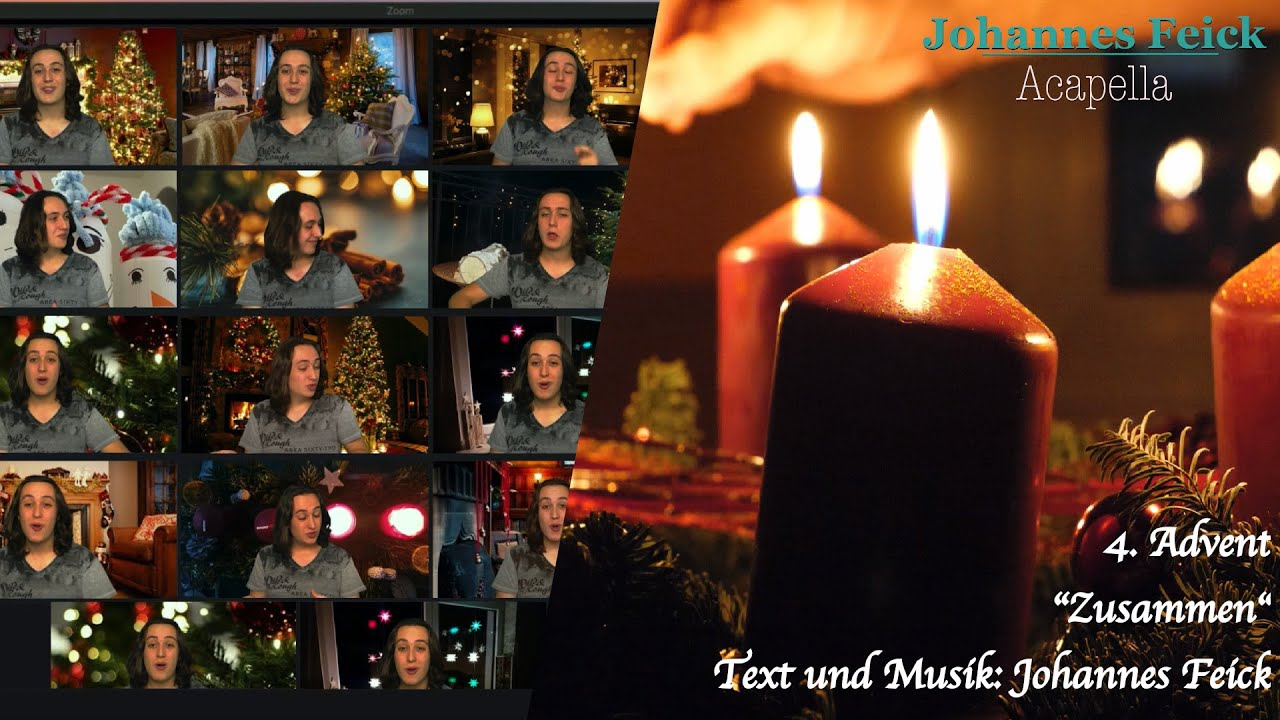 Zusammen - Johannes Feick | Acapella Original [4. Advent]