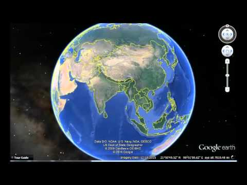 Myanmar Google Earth View