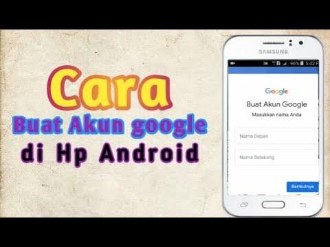 Cara Buat Akun Google Di Hp Samsung J1 Ace Na Tomas Youtube