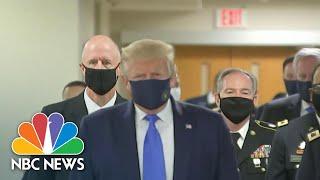 Coronavirus: Amid Ongoing Debate, Trump Says Face Masks Are 'Patriotic'