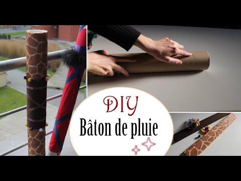 Diy cr er un b ton de pluie how to make a rainstick for Decoration baton de pluie
