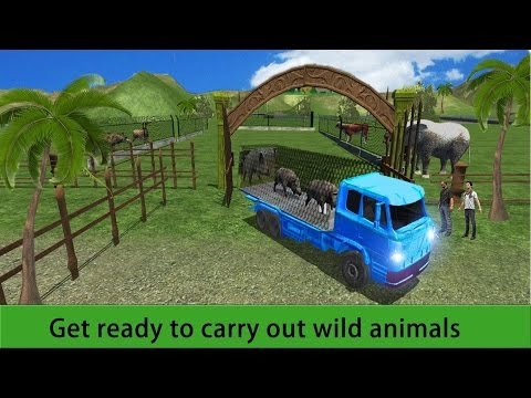 Zoo Animal Transport Truck 3D Android Gameplay