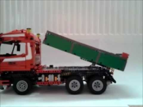 lego technic kreation 4 man 6x4 kipper youtube. Black Bedroom Furniture Sets. Home Design Ideas