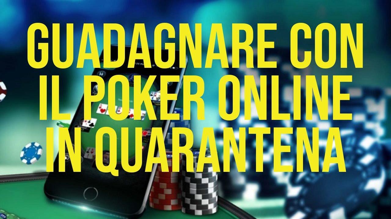 guadagnare con il poker on line