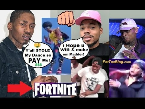 Fortnite Sued for Stealing MiLLY ROCK Dance, Chance the Rapper Defends 2Milly 🤑👊🏽