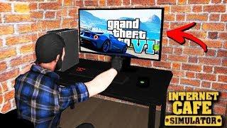 JOGANDO GTA 6 na LAN HOUSE!!! - Internet Cafe Simulator