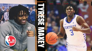 Kentucky's Tyrese Maxey breaks down film of his freshman season | 2020 NBA Draft Scouting